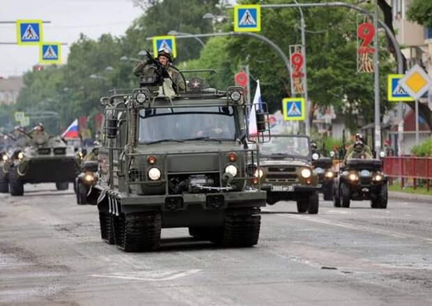 «Алеут» для Арктики. Российская армия получает двухзвенные транспортеры