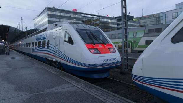 Хельсинки планирует возобновить железнодорожное сообщение с РФ