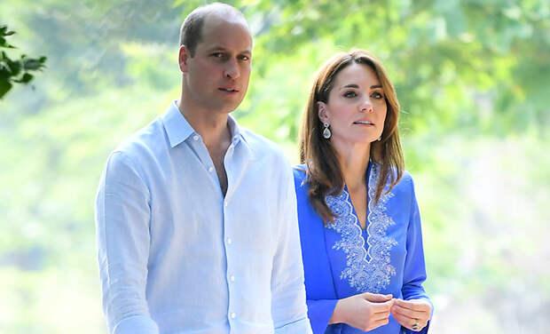 Кейт Мидлтон и принц Уильям поделились личным видео из поездки в Пакистан