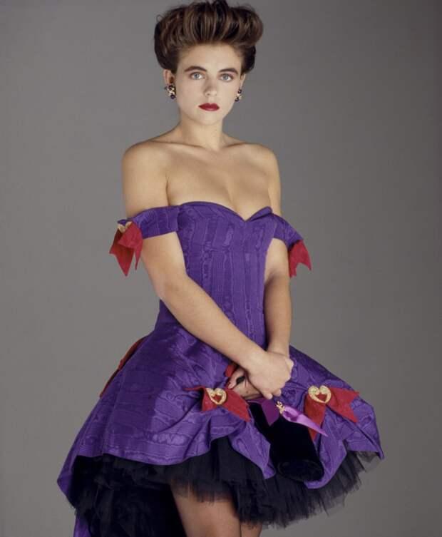 Элизабет Херли в фотосессии Дэвида Энтони (1989)