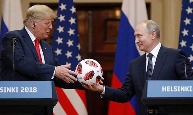 Путин обошел Трампа по уровню доверия в мире