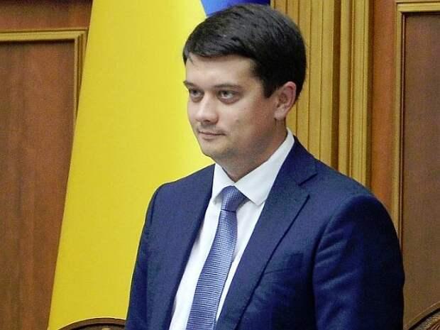 Вертолет со спикером Верховной рады Украины совершил аварийную посадку