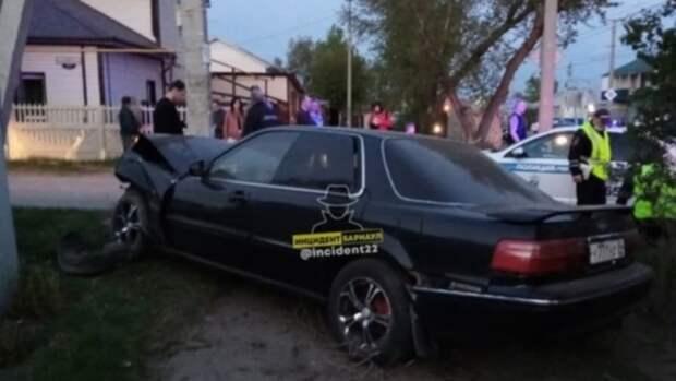 В ГИБДД рассказали подробности ДТП с пьяным водителем в Барнауле