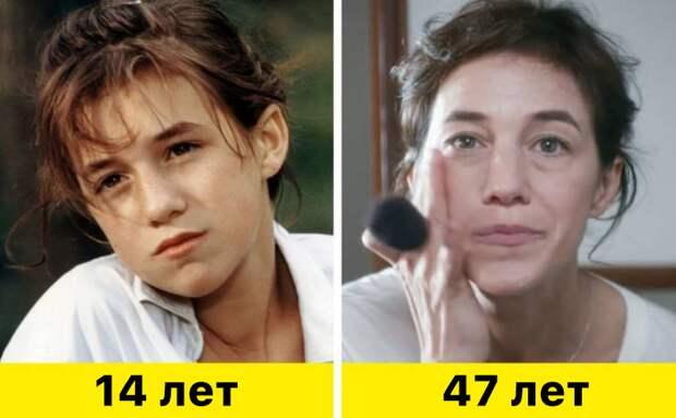 """12. Шарлотта Генсбур - """"Дерзкая девчонка"""" (1985) и """"Моя собака Идиот"""" (2019)"""