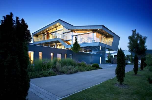 Дома в стиле хай-тек: современная концепция комфорта, уюта и эргономики (58 фото)