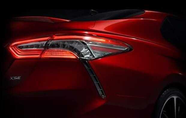 Новая Toyota Camry: первое изображение
