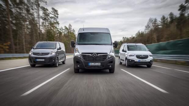 Opel значительно укрепляет свои позиции в сегменте легких коммерческих автомобилей