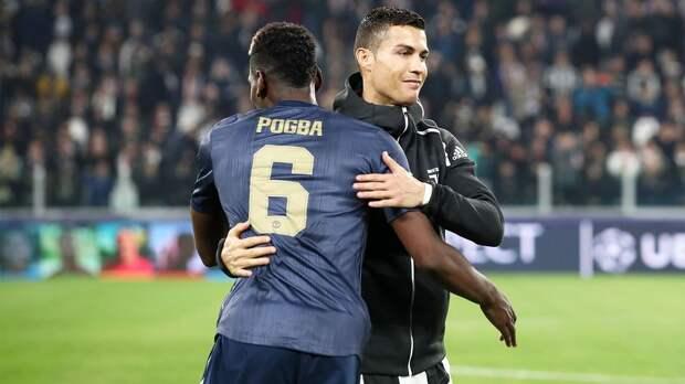 «Манчестер Юнайтед» хочет обменять Погба на Роналду