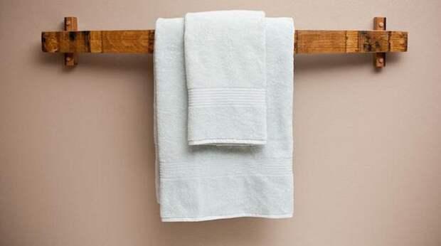 Сделайте оригинальный держатель для полотенец! 20 необычных идей