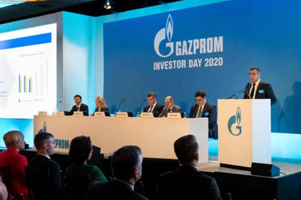 """""""Газпром"""" ждет снижения показателя """"чистый долг/EBITDA"""" в 2021 году ниже 2 - топ-менеджер"""