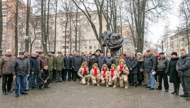 Глава Подольска возложил цветы к памятнику воинам‑интернационалистам