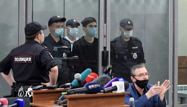 Суд в Казани арестовал обвиняемого в нападении на школу Галявиева