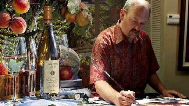 Эрик Кристенсен - американский художник, непревзойденный мастер винного натюрморта.