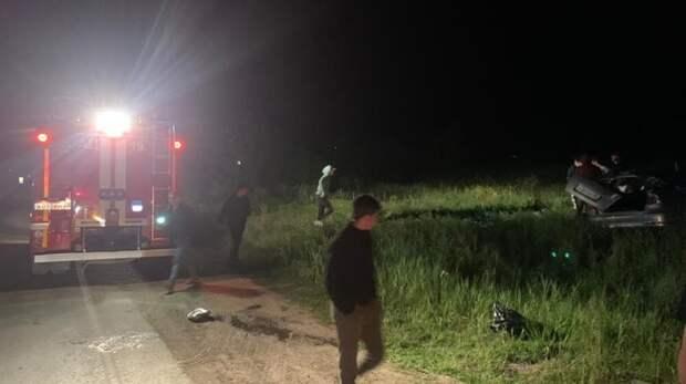Легковушка перевернулась на Симферопольском шоссе в Феодосии