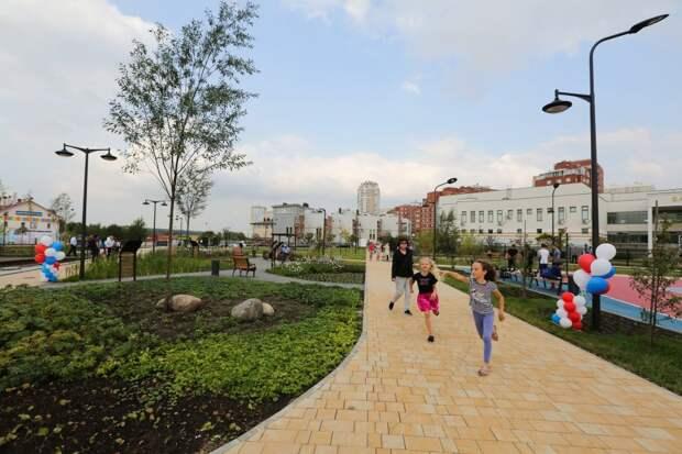 Сделано в СЗАО: на месте пустыря появился парк с дождевым садом