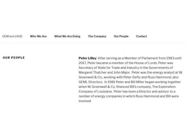 Сделка века: за СПГ из США Киев заплатит лорду и эксперту Рика Перри
