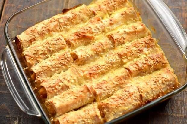 Блюдо из ЛАВАША на миллион: аппетитно, сочно и вкусно!