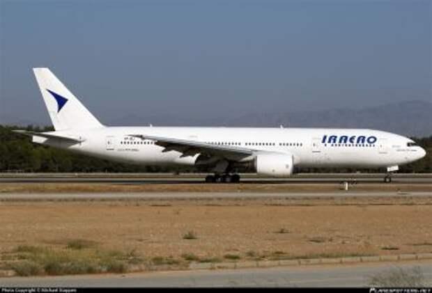 Boeing 777-21HER авиакомпании IrAero