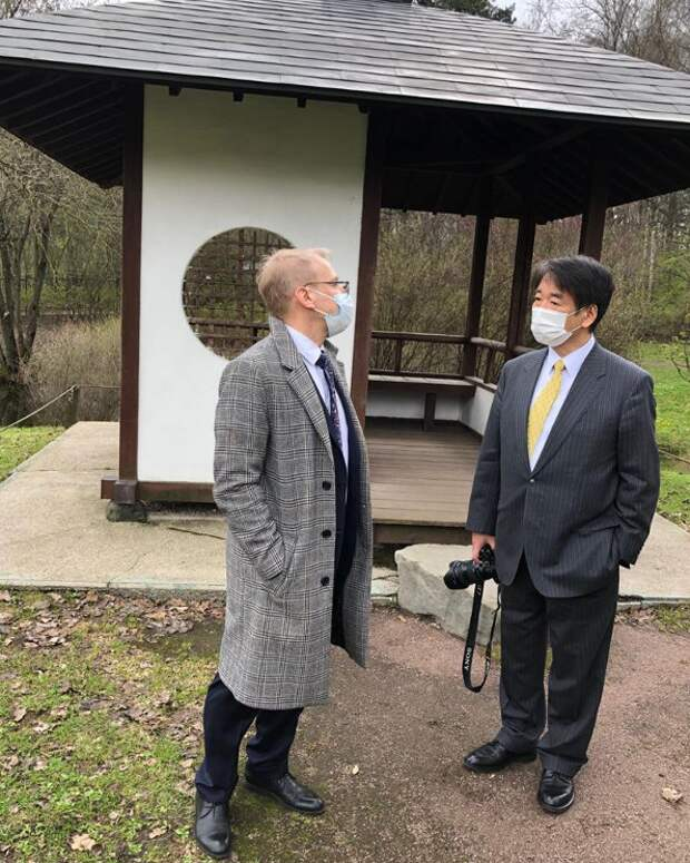 Посол страны Восходящего Солнца открыл экспозицию «Японский сад» в Ботаническом саду