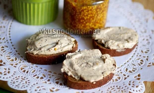 Простая и вкусная намазка на хлеб
