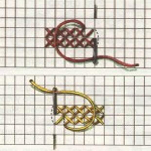 техника вышивки крестом