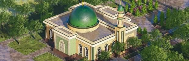 В Баутино строят новую мечеть