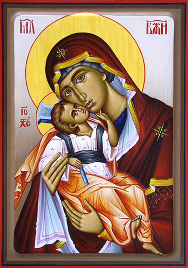 20 ноября Икона Божией Матери «Взыграние Младенца»