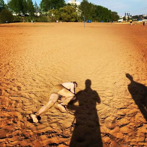 Сезон открыт: пьяного подростка эвакуировали на носилках с городского пляжа Ижевска