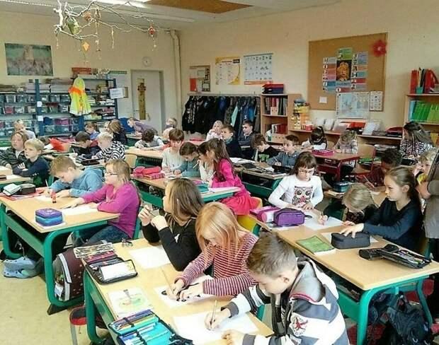 """Образование в Германии: в первом классе раскрашивают буквы и цифры, а потом делят детей на группы """"по уму"""""""