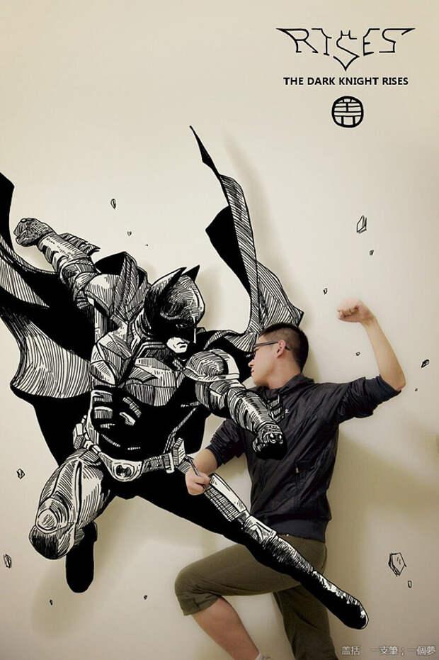 Gaikuo-Captain: ожившие иллюстрации