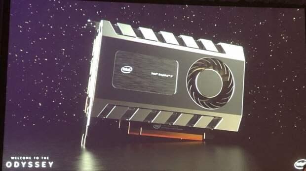 Intel анонсировала новые процессоры и впервые показала свою дискретную видеокарту