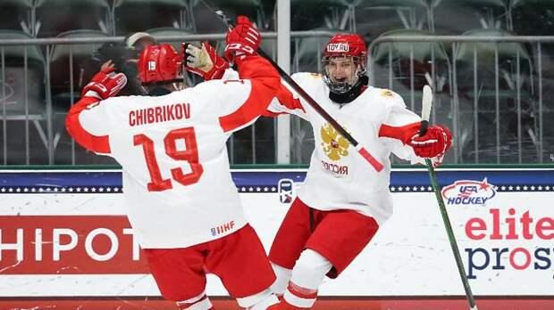 Сборная России обыграла финнов в полуфинале юниорского ЧМ по хоккею