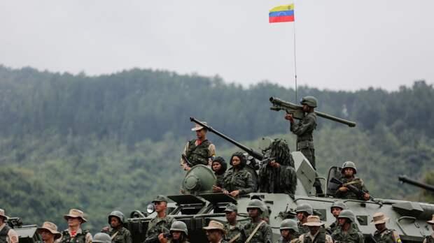 На границе с Колумбией боевики захватили восемь солдат из армии Венесуэлы