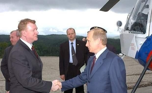 Владимир Путин, Анатолий Чубайс(2020) Фото: kremlin.ru