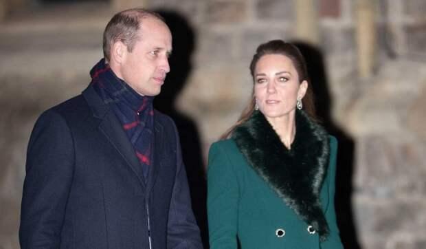 Принц Уильям и Кейт Миддлтон перестали скрывать чувства на публике