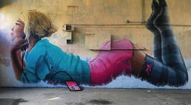 20 стрит-арт-работ награни искусства ихулиганства