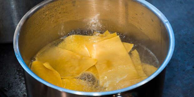 В Китае придумали макароны, которые приобретают форму при варке