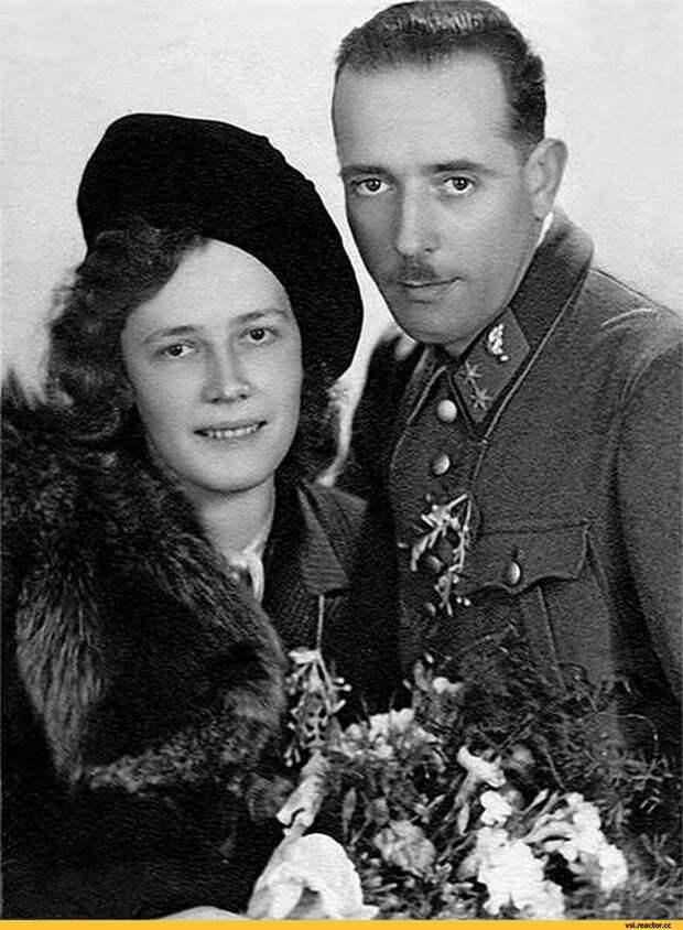Родители Арнольда. Аурелия и Густав Шварценеггеры. Фото взято из открытых источников