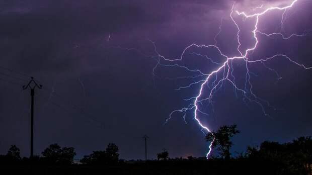 Штормовое предупреждение из-за сильной грозы объявили вРостовской области на7июня