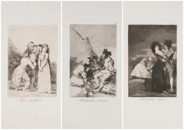 Выставка «Тайные пороки», посвященная циклам сатирических гравюр Франсиско Гойи и Сальвадора Дали «Капричос», откроется в Москве
