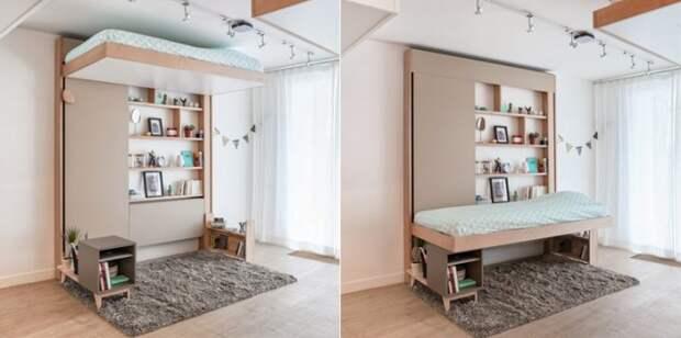 Необычная раскладная мебель - идеи