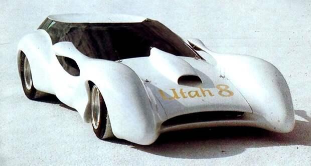 Colani Utah 8 (1978) Спортпрототип с моnоциклетным двигателем BMW. Высота - всего 90см. Масса 550кг Colani, авто, дизайн