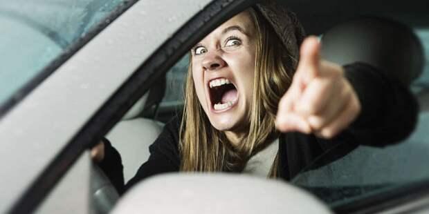 Российские автомобилисты предпочитают ругаться