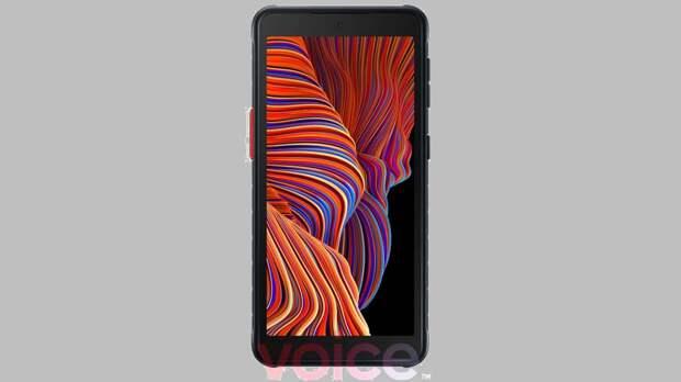 Дизайн Сверхпрочной Samsung Galaxy Xcover 5