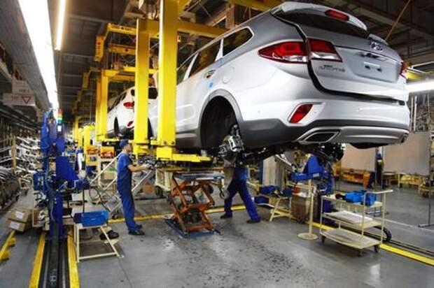 На «Автоторе» стартовал выпуск Hyundai Grand Santa Fe