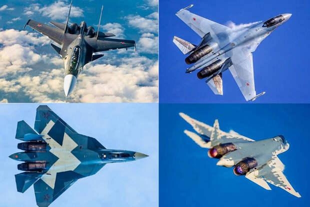 Ростех расшифровал цветовые схемы камуфляжа истребителей России