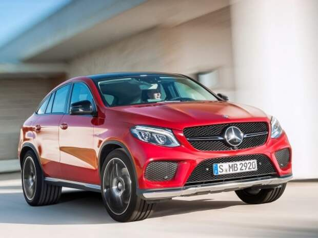 Mercedes-Benz явил миру свой «X6» – кроссовер GLE Coupe