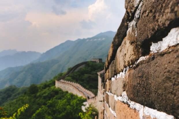 Чем скрепляли кирпичи в Великой Китайской стене?