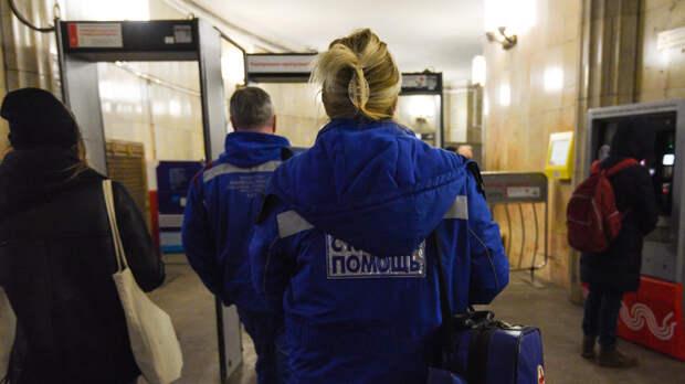 Человек погиб под колесами поезда на станции метро «Кунцевская»