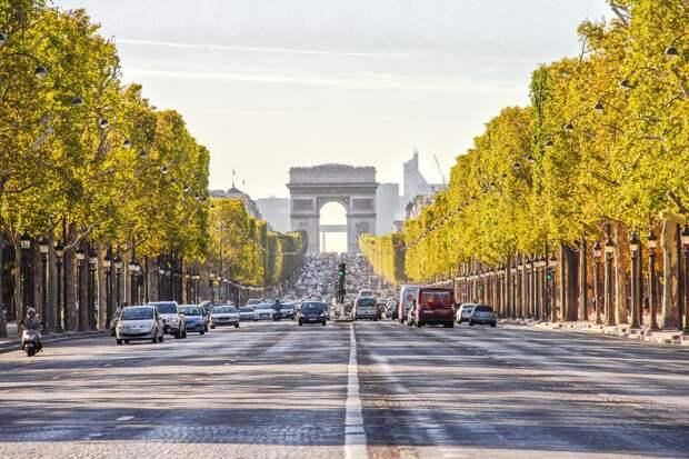 В Париже вводят ограничение скорости до 30 км/ч